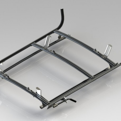 Ranger Design Combination ladder rack, aluminum, 2 bar, Nissan NV200 / City Express