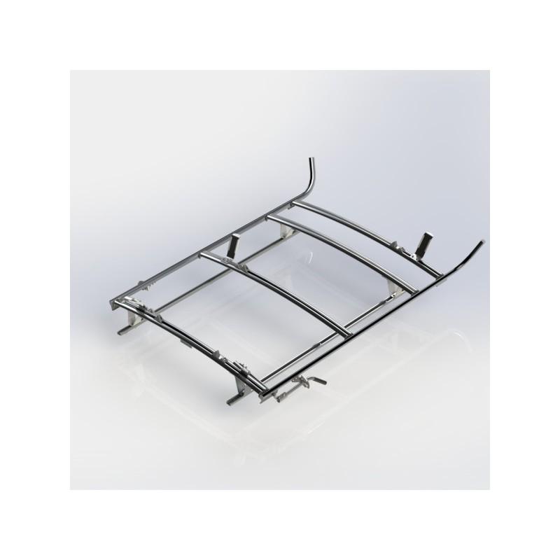 Ranger Design Combination Ladder Rack Aluminum 3 Bar