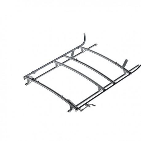 "Ranger Design Combination ladder rack, aluminum, 3 bar, Ram ProMaster 136\\"" Wheelbase"