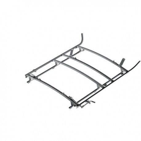 "Ranger Design Combination ladder rack, aluminum, 3 bar, Ram ProMaster 118\"" Wheelbase"
