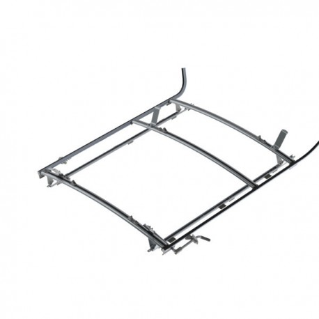 "Ranger Design Combination ladder rack, aluminum, 2 bar, Ram ProMaster 159\"" Wheelbase"