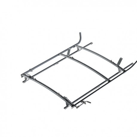 "Ranger Design Combination ladder rack, aluminum, 2 bar, Ram ProMaster 136\"" Wheelbase"