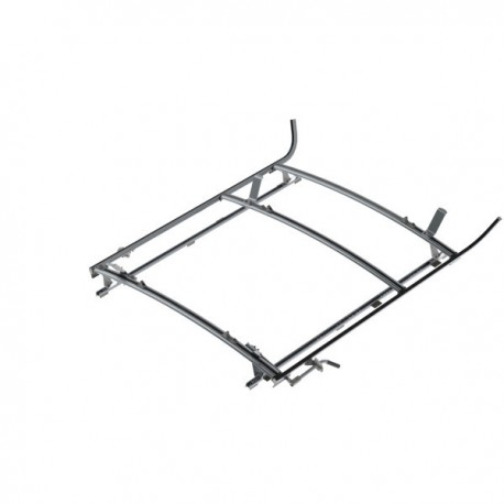"Ranger Design Combination ladder rack, aluminum, 2 bar, Ram ProMaster 118\"" Wheelbase"