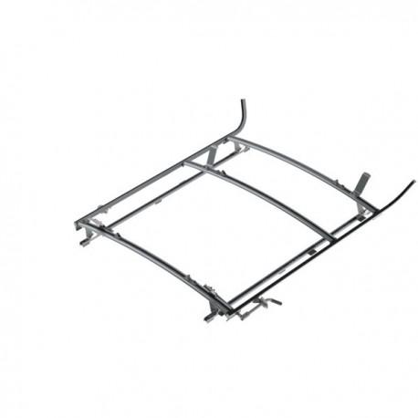 "Ranger Design Combination ladder rack, aluminum, 2 bar, Ram ProMaster 118\\"" Wheelbase"