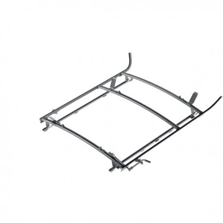 "Ranger Design Combination ladder rack, aluminum, 2 bar, Ram ProMaster 159\"" Wheelbase Extended"