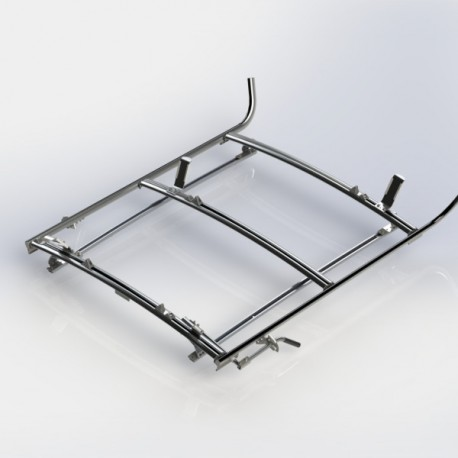 Ranger Design Combination ladder rack, aluminum, 2 bar, Ford Transit Connect
