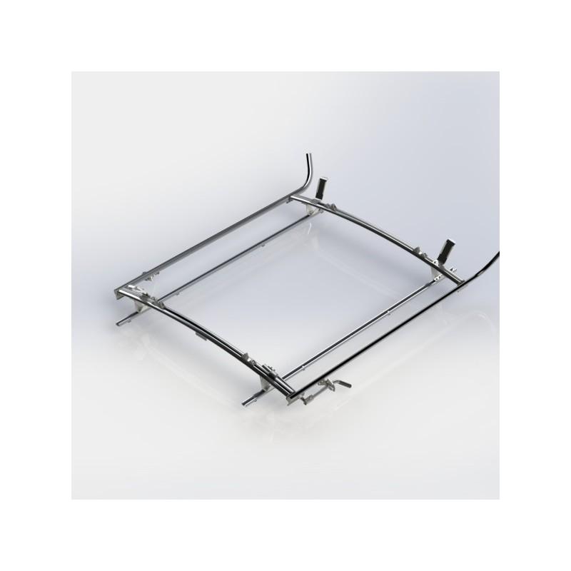 Ranger Design Double Clamp Ladder Rack Aluminum 2 Bar