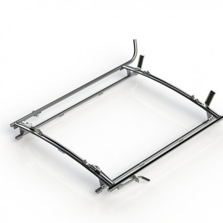 Ranger Design Double clamp ladder rack, aluminum, 2 bar, Ford Transit RWB