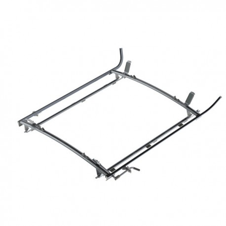 "Ranger Design Double clamp ladder rack, aluminum, 2 bar, Ram ProMaster 159\"" Wheelbase"