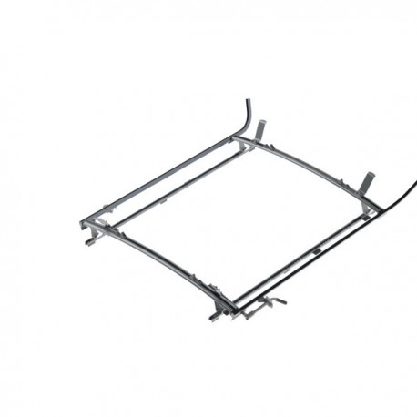 "Ranger Design Double clamp ladder rack, aluminum, 2 bar, Ram ProMaster 118\"" Wheelbase"