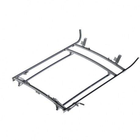 Ranger Design Double clamp ladder rack, aluminum, 3 bar, Ford Transit Connect