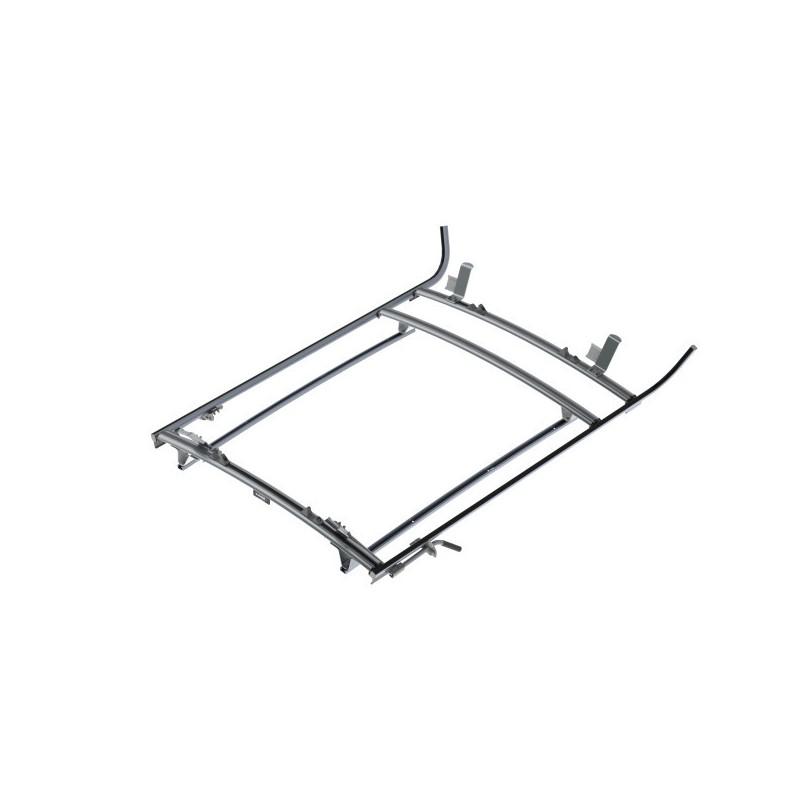 Ranger Design Double Clamp Ladder Rack Aluminum 3 Bar