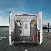 Service Van Shelving Package RAM ProMaster